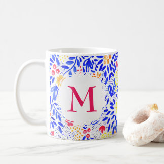 Personalised Colourful Watercolour Pattern Mug