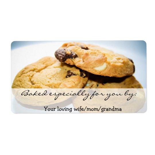 Personalised Cookie Label