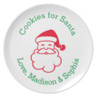Personalised Cookie Plate for Santa's Cookies