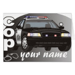 Personalised Cop Note Card
