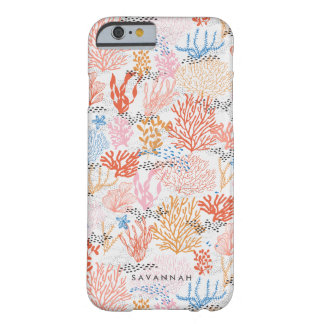 Personalised | Coral Reef Barely There iPhone 6 Case