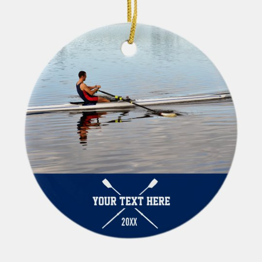 Personalised Crew Rowing Club Team Name Year Christmas