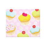 Personalised Cupcakes Gallery Wrapped Canvas