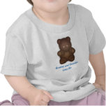 Personalised: Curly Bear T-Shirt