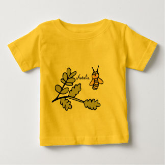 Personalised Custom Infant T-Shirt with Bee