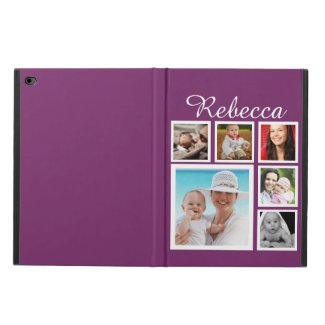 Personalised Custom Photo Collage Customisable iPad Case