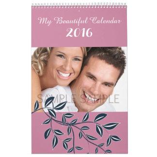 Personalised Custom Printed Calendar 2016