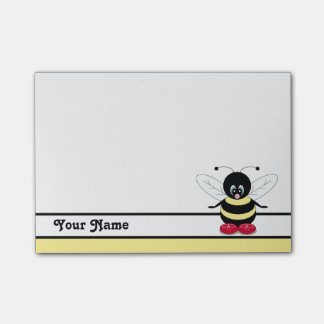 Personalised Cute BumbleBee Post-it® Notes