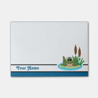 Personalised Cute Frog Post-it® Notes