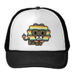 !*PERSONALISED*! Cute funky lion! Trucker Hats