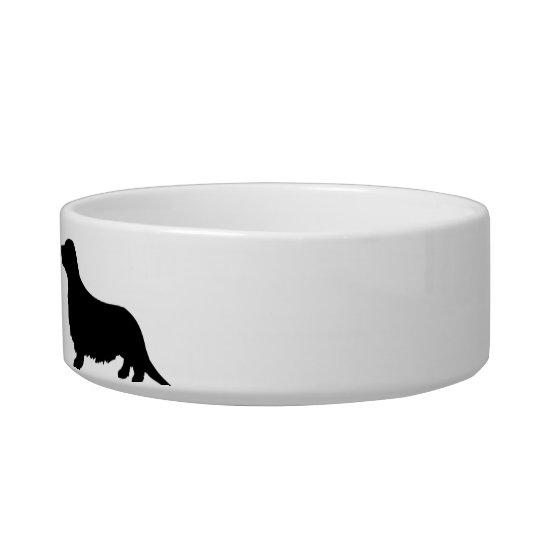 Personalised Dachshund Dog food Bowl