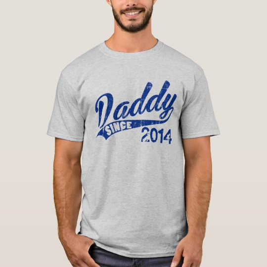 Personalised Daddy since Year T-Shirt