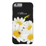 Personalised Daisies and Ladybugs iPhone 6 case Barely There iPhone 6 Case