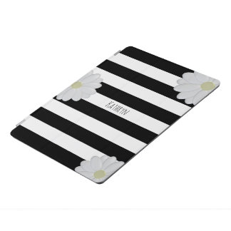 Personalised Daisy Striped iPad Pro Cover