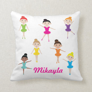 Personalised Dancing Ballerina Pillow