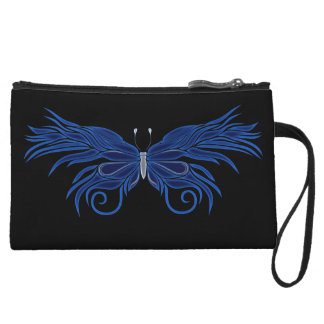 Personalised Decorative Butterfly Clutch Purse Wristlet Clutch
