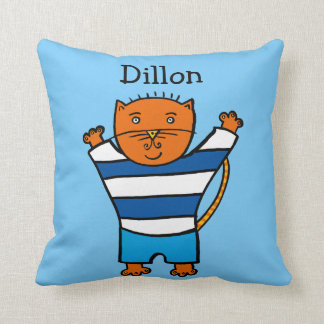 Personalised Dillon the Cat Cushion