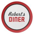 Personalised Diner Plate