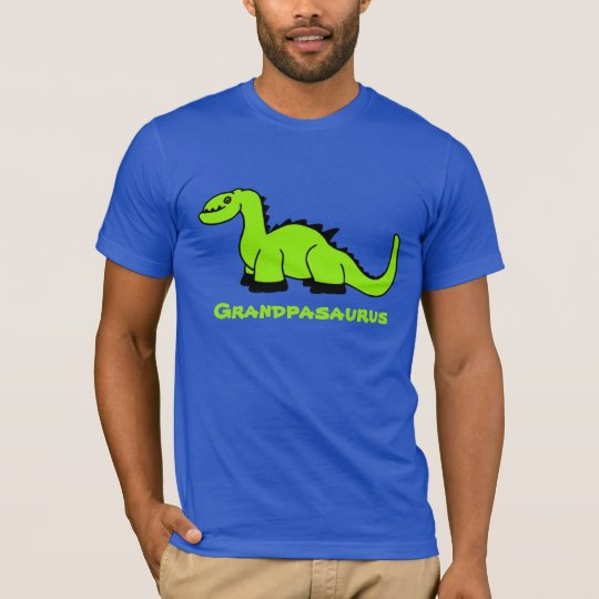Personalised Dinosaur Adult T-Shirt for Men Dad