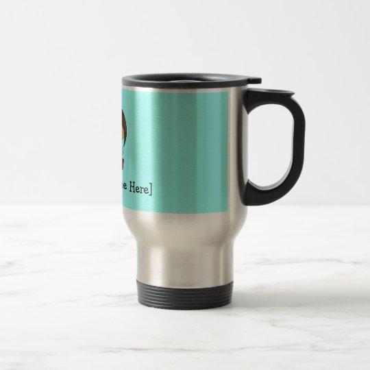 Personalised Doctor Female - Customisable colours! Travel Mug