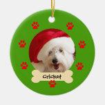 Personalised Dog Christmas Ornament