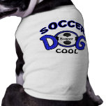 Personalised Dog Gifts, Soccer Dog Shirt
