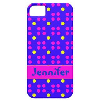 Personalised dotting pattern iPhone 5 cases