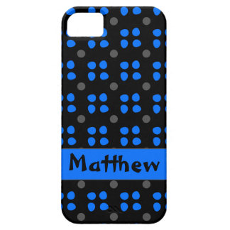 Personalised dotting pattern iPhone 5 case