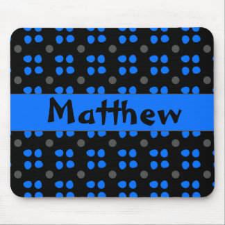 Personalised dotting pattern mouse pad