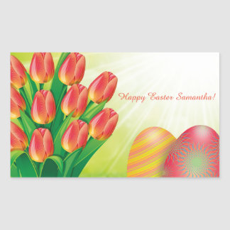 Personalised Easter Sticker