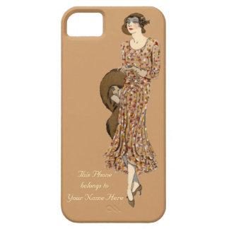 Personalised Elegant 1930 s Fashion iPhone 5 Case