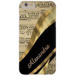 Personalised elegant music sheet