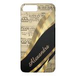 Personalised elegant music sheet iPhone 7 plus case