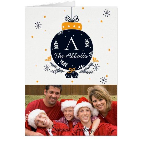 Personalised Family Photo Christmas/NYE Cards
