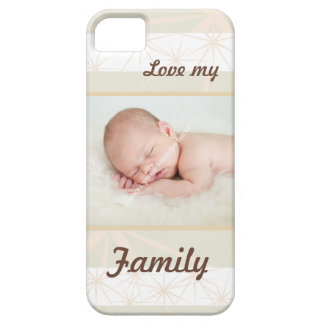Personalised Family Photo - Love My Family iPhone 5 Case