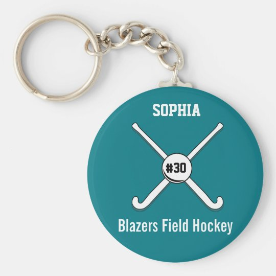 Personalised Field Hockey Team Name Jersey Number Basic