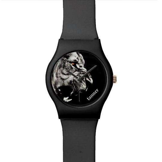 Personalised Fierce Lion Watch