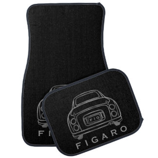 Personalised Figaro Car Mats, Full Set Car Mat