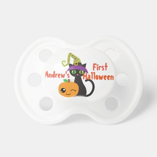 Personalised First Halloween Pacifier
