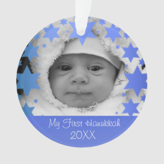Personalised First Hanukkah Ornament