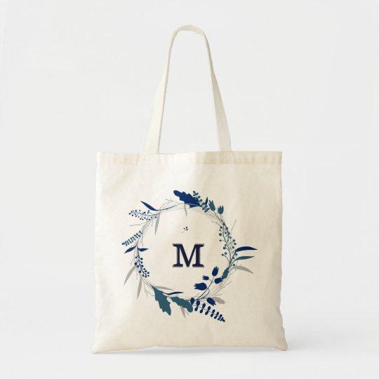 Personalised Floral Bridesmaid Tote Bag