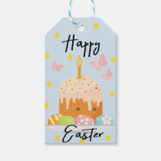 Personalised Floral Bunny Easter Gift Tags