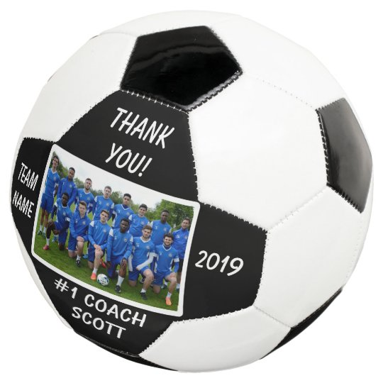 f15407485bc Personalised Football Coach Team Photo Thank You