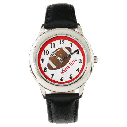 Personalised Football Watches for Boys