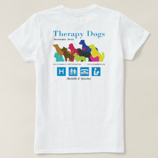 [Personalised - for light colours] Therapy Dogs BI T-Shirt