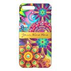 Personalised Funky Boho Floral Flame Mandalas iPhone 8 Plus/7 Plus Case