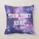 Personalised Galaxy Pillow