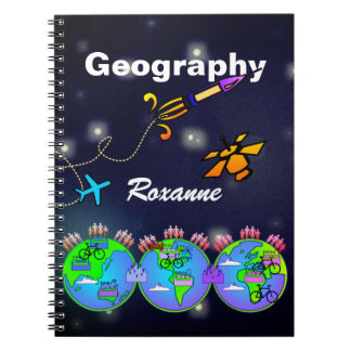 Personalised Geography NoteBook
