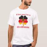 Personalised German Kiss Me I'm Kellerman T-Shirt