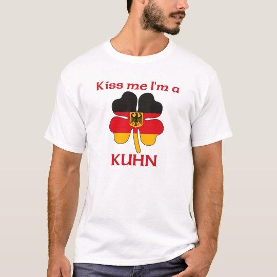 Personalised German Kiss Me I'm Kuhn T-Shirt